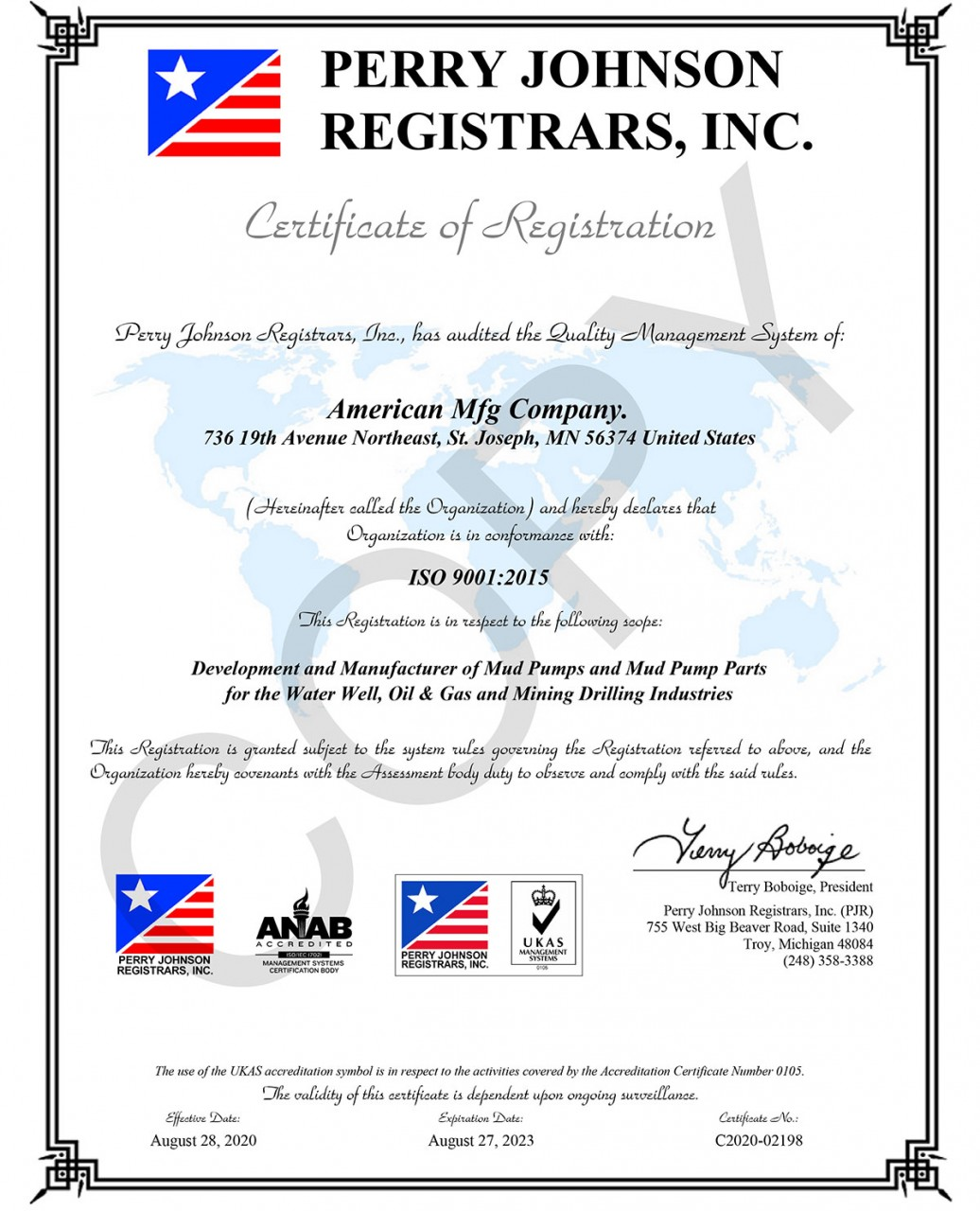 American-Mfg-Company-Color-Certificate